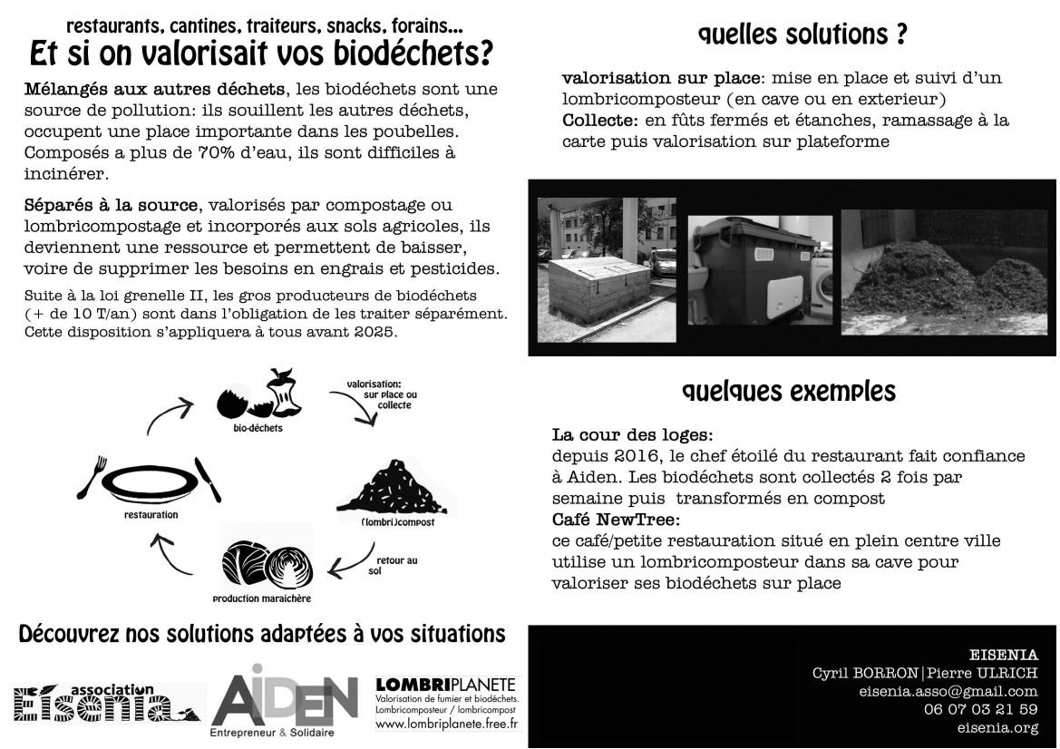 Collecte biodéchet Lyon compostage